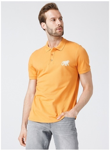 National Geographic National Geographic Polo T-Shirt Oranj